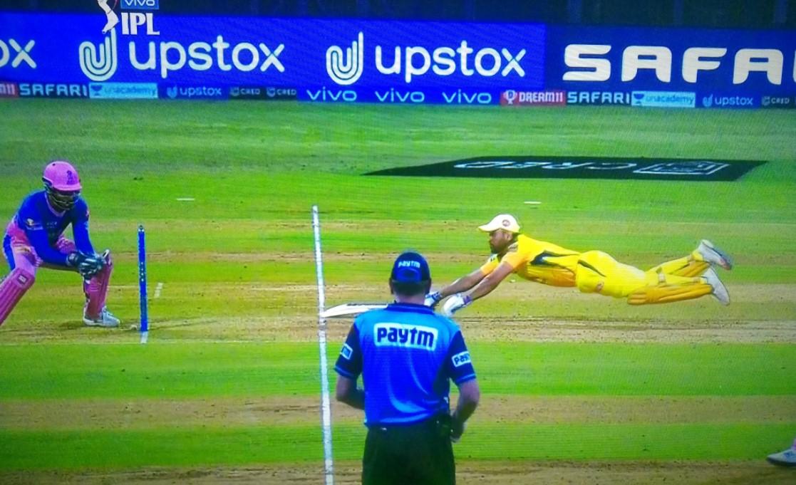 வீடியோ : 2019 உலகக்கோப்பை செமி பைனலை நியாபகப்படுத்திய எம் எஸ் தோனி ! 1